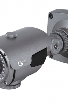 External Varifocal Lens IR LED Bullet Camera